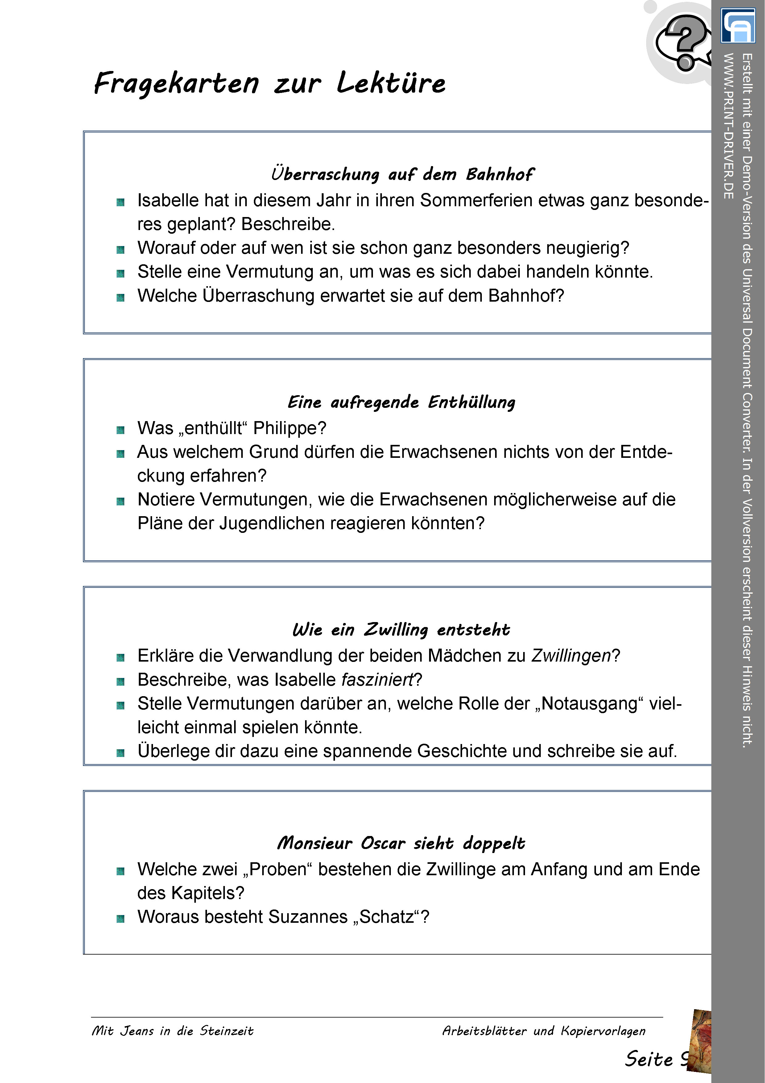 Anne Frank Tagebuch im Deutschunterricht - Material, Kopiervorlagen ...